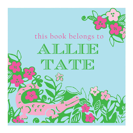 Lilly Pulitzer Personalized Stickers - Later Gator - lifeguard-press