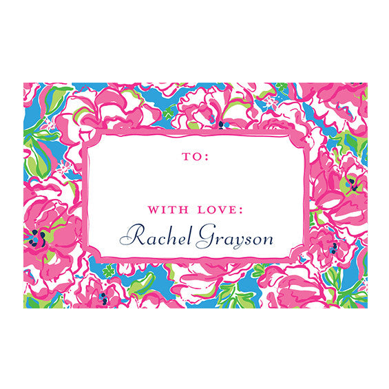 Lilly Pulitzer Personalized Stickers - Lucky Charms - lifeguard-press