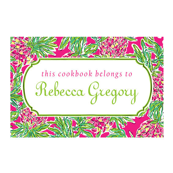 Lilly Pulitzer Personalized Stickers - Spike the Punch - lifeguard-press