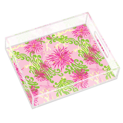 Lilly Pulitzer Small Tray - Dirty Shirley - lifeguard-press