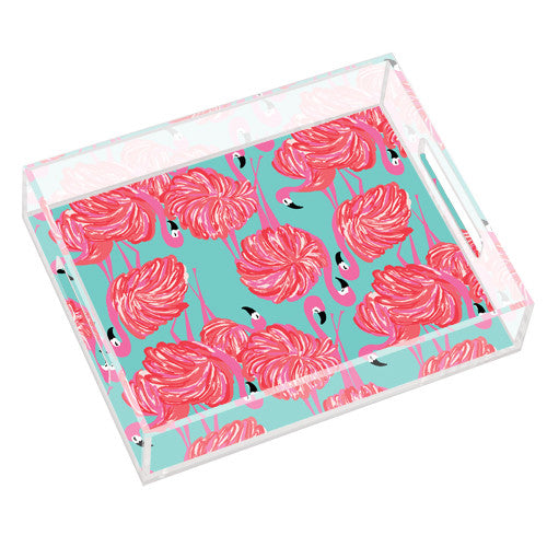 Lilly Pulitzer Small Tray - Gimme Some Leg - lifeguard-press