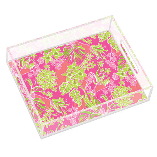 Lilly Pulitzer Small Tray - Luscious - lifeguard-press