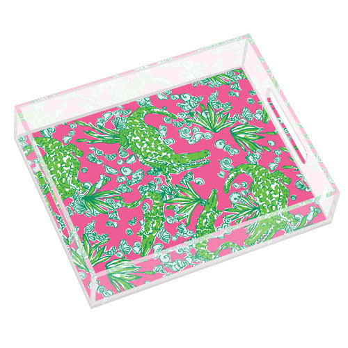 Lilly Pulitzer Small Tray - See You Later - lifeguard-press