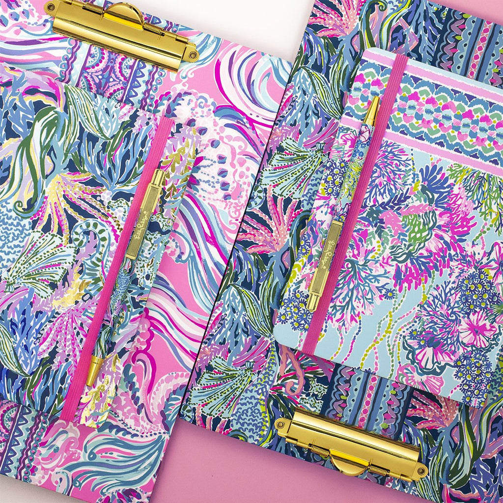 Lilly Pulitzer Journal with Pen, Beach You To It