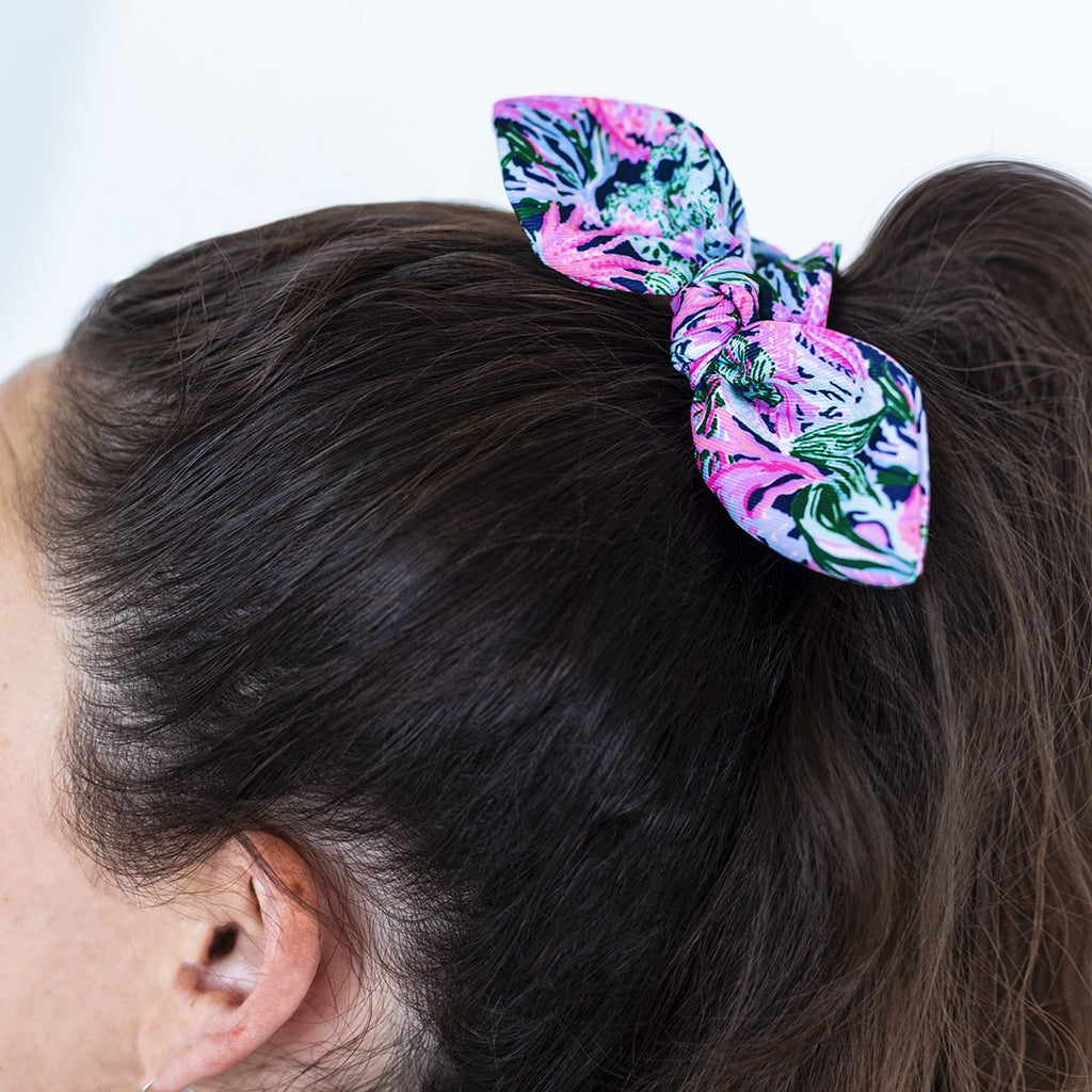Lilly Pulitzer Hair Scrunchie, Bringing Mermaid Back