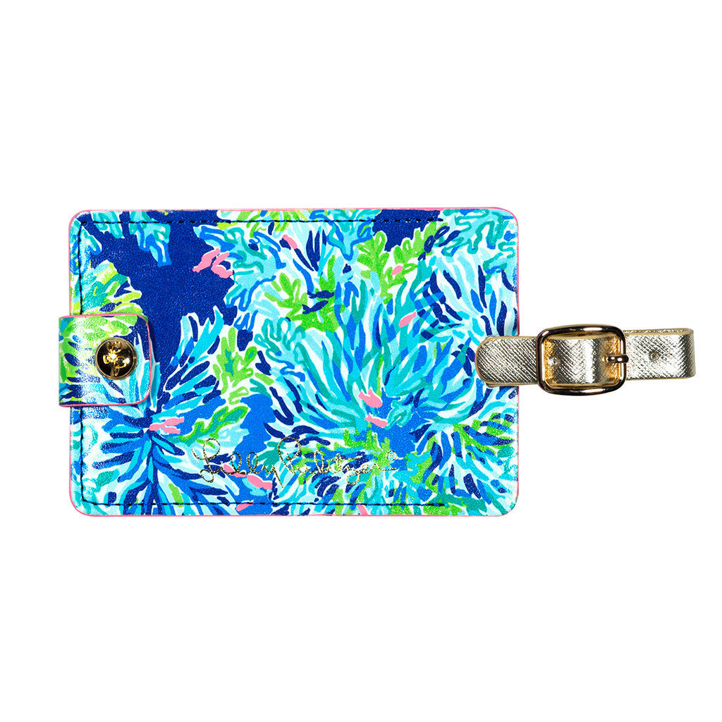 Lilly Pulitzer Luggage Tag, Wade and Sea