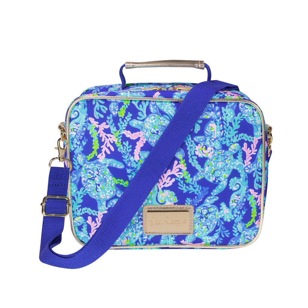 Lilly Pulitzer Lunch Bag, Turtle Villa