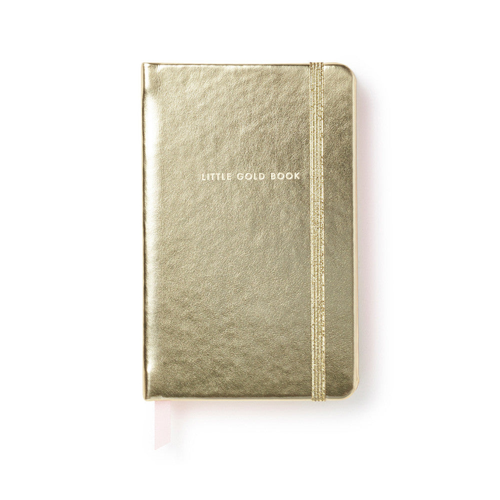 kate spade new york take note medium notebook - little gold book - lifeguard-press