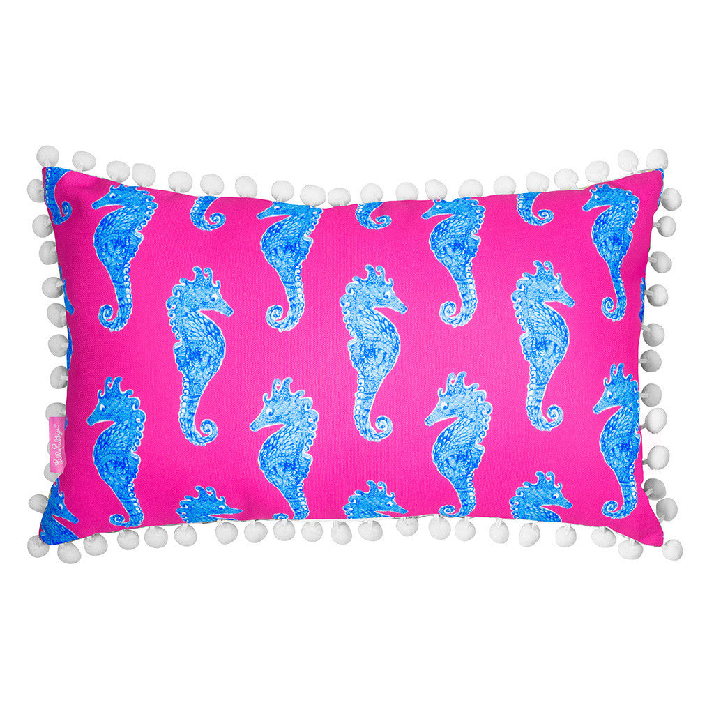 Lilly Pulitzer Medium Pillow, Horsin' Around