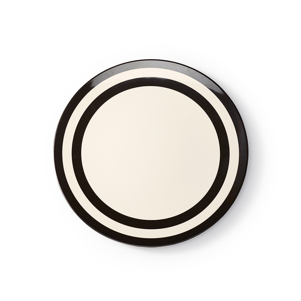 kate spade new york melamine dinner plate - raise a glass - lifeguard-press