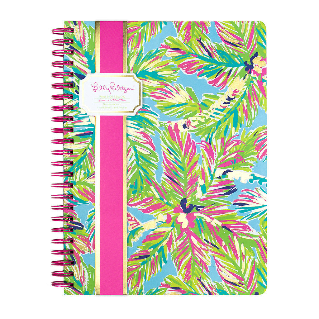 Lilly Pulitzer Mini Notebook - Island Time - lifeguard-press - 1