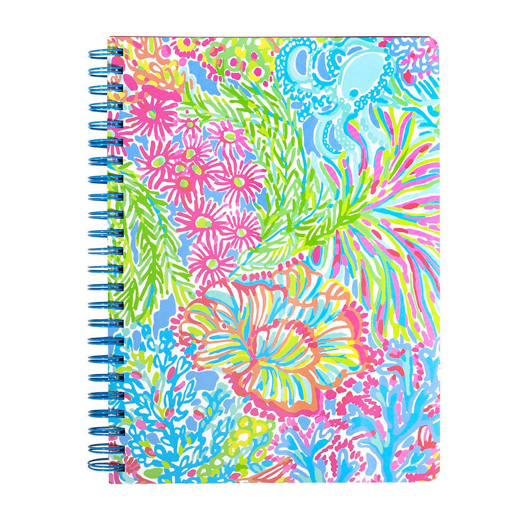 Lilly Pulitzer Mini Notebook - Lover's Coral - lifeguard-press - 2
