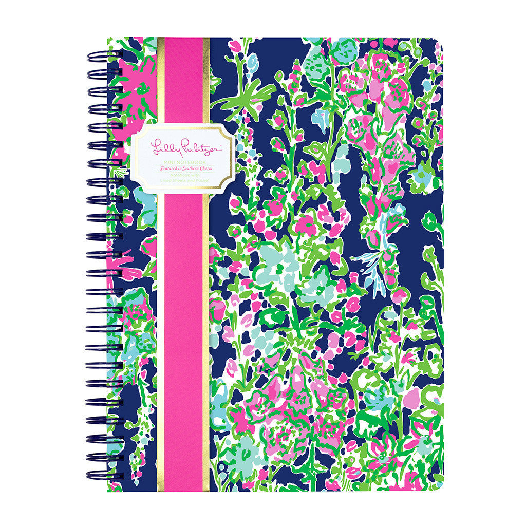 Lilly Pulitzer Mini Notebook - Southern Charm - lifeguard-press - 1