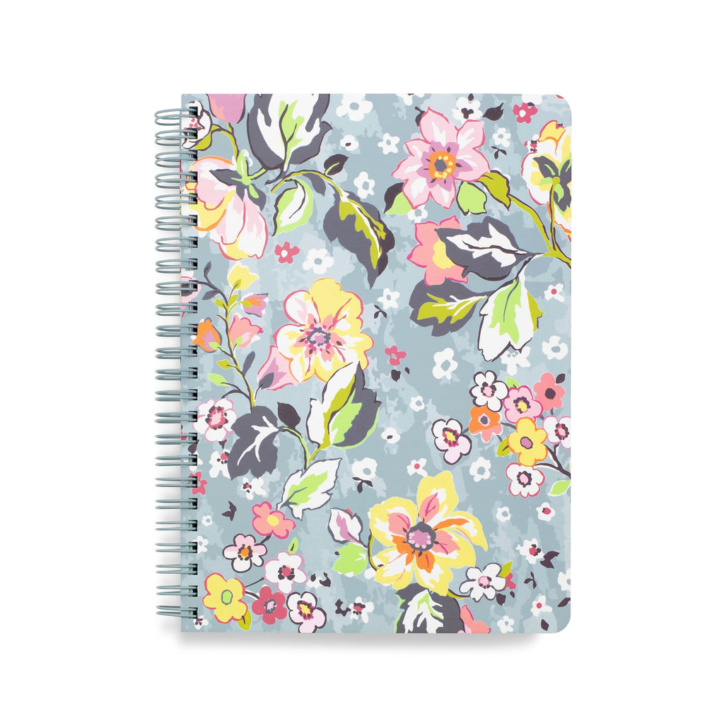 Vera Bradley Mini Notebook with Pocket, Floating Garden