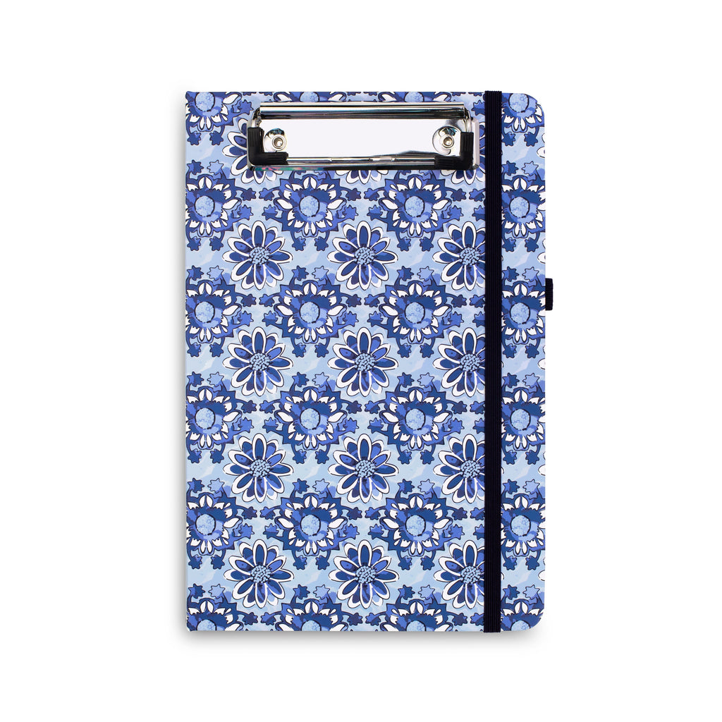 Mini Clipboard Folio, Ikat Island Tile