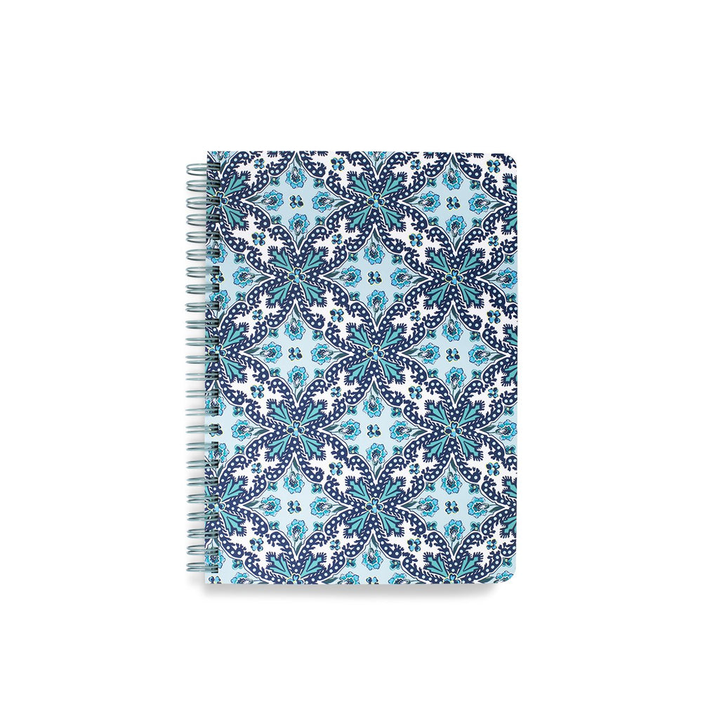 vera bradley mini notebook, cloud vine