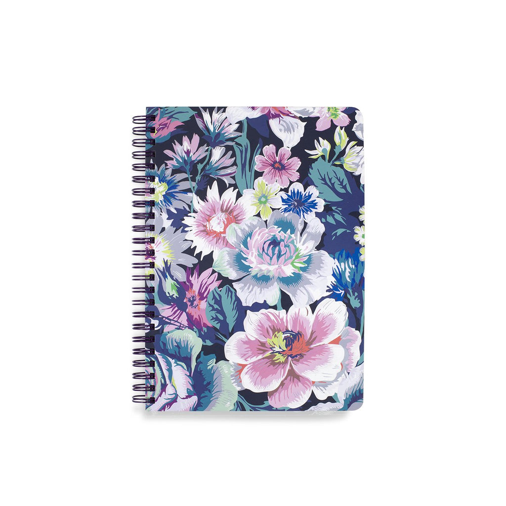 vera bradley mini notebook, garden grove