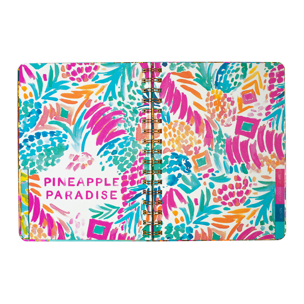 Lilly Pulitzer Monthly Planner - Sparkling Sands