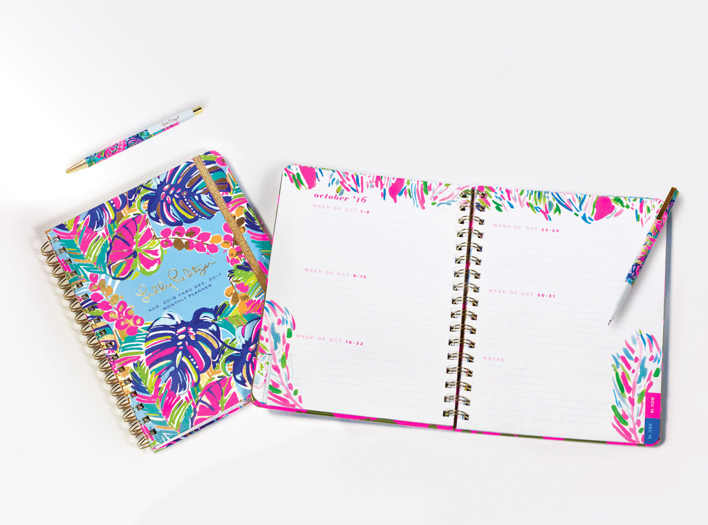 Lilly Pulitzer Monthly Planner - Tusk In Sun - lifeguard-press - 3