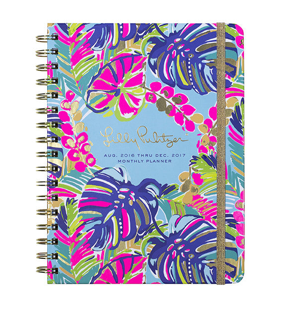 Lilly Pulitzer Monthly Planner - Exotic Garden - lifeguard-press - 1