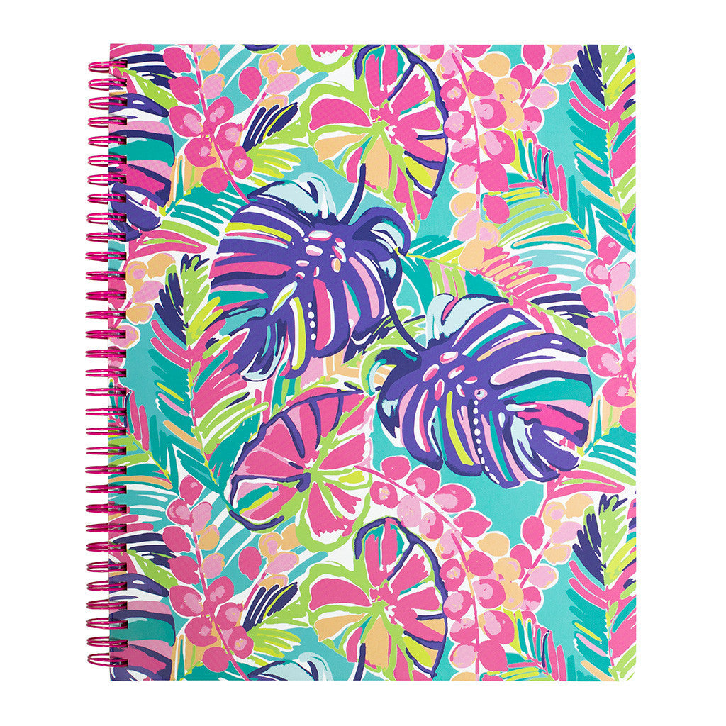 Lilly Pulitzer Large Notebook - Exotic Garden - lifeguard-press - 2