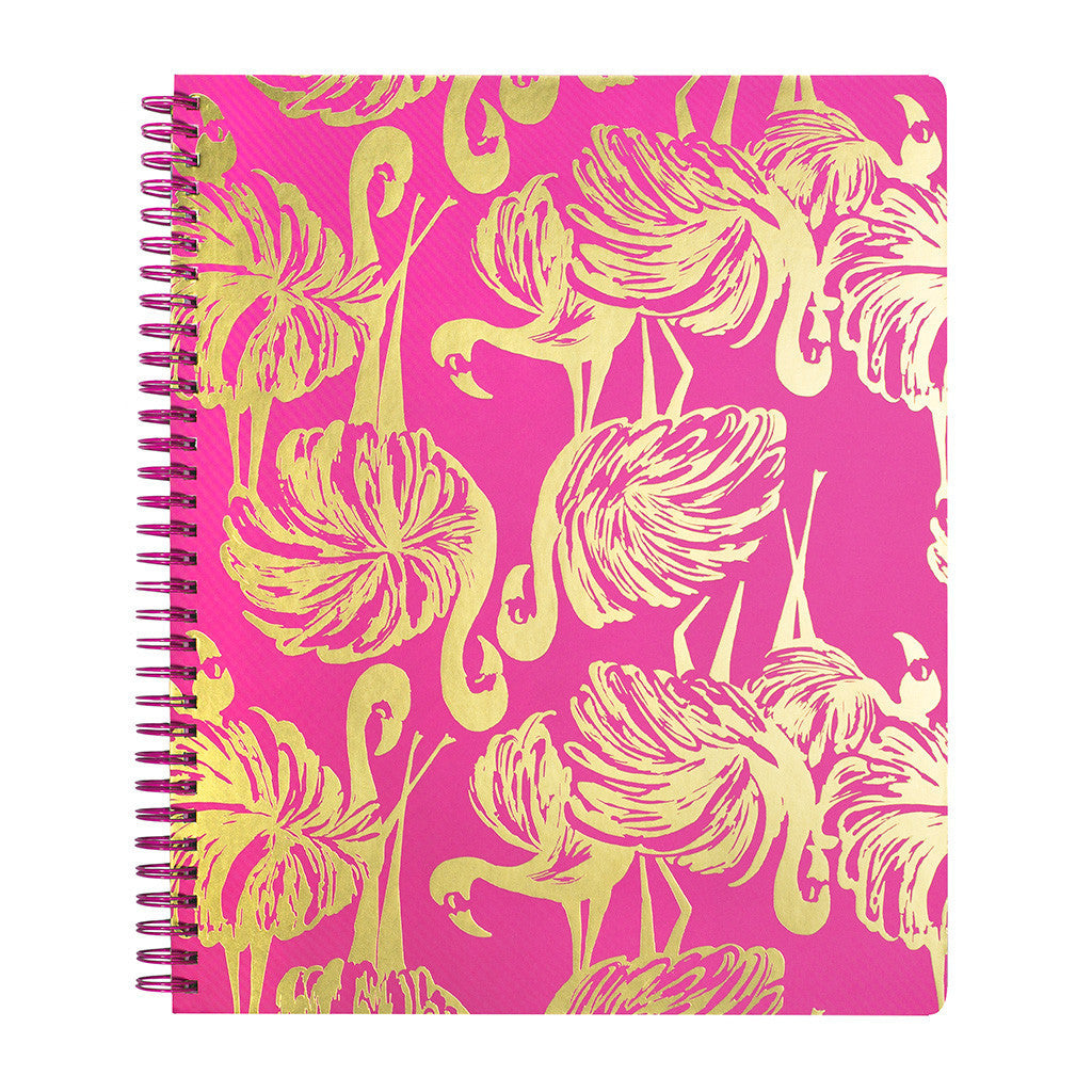 Lilly Pulitzer Large Notebook - Gimme Some Leg - lifeguard-press - 2