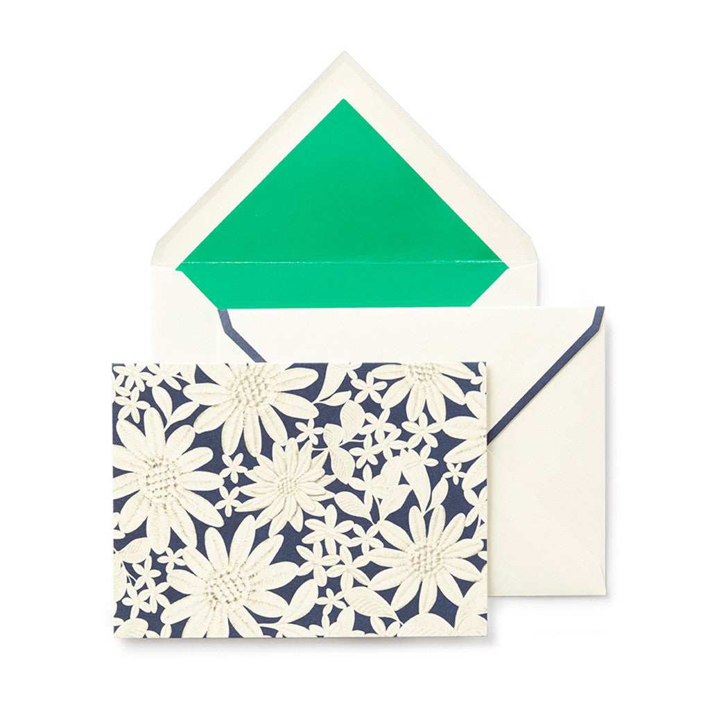 kate spade new york notecard set - daisy lace - lifeguard-press