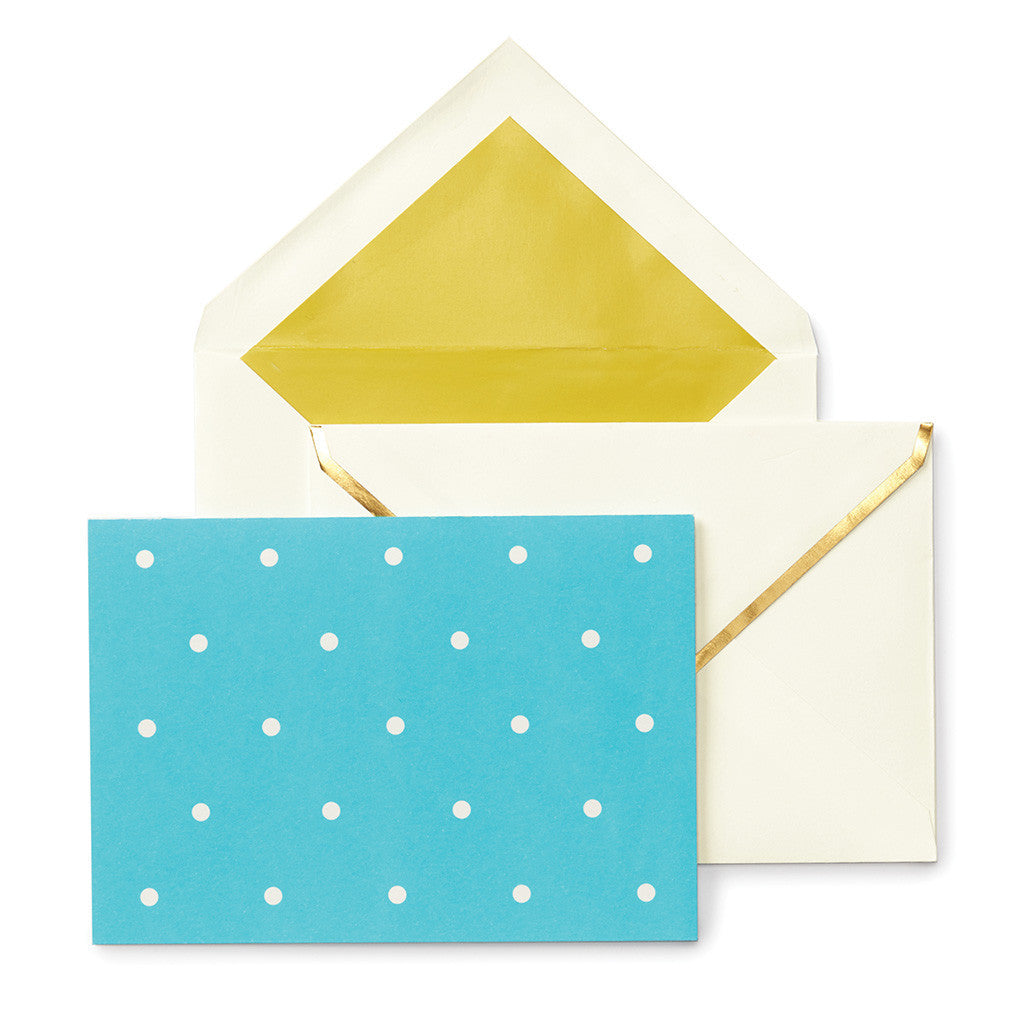 kate spade new york larabee dot assorted notecard set - lifeguard-press - 3
