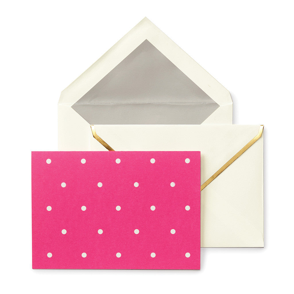 kate spade new york larabee dot assorted notecard set - lifeguard-press - 5