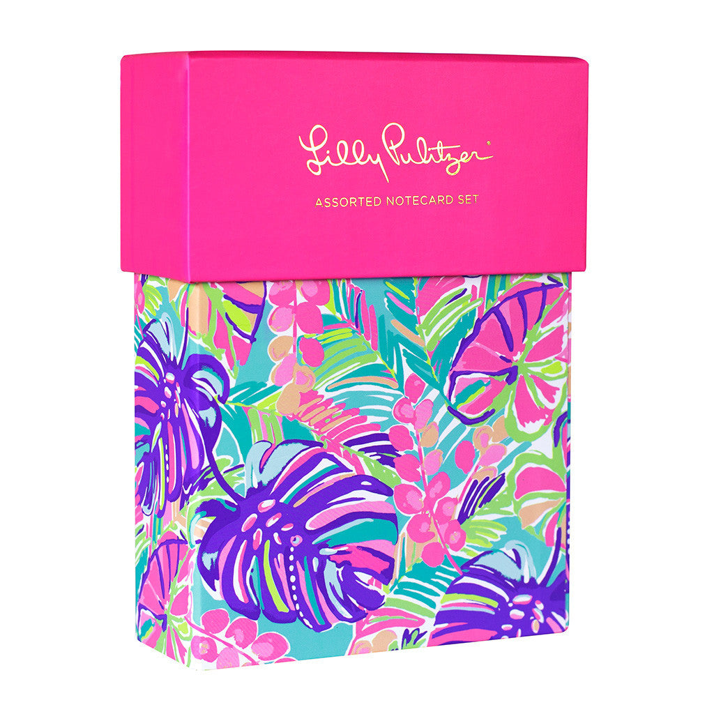 Lilly Pulitzer Assorted Notecard Set - lifeguard-press - 4