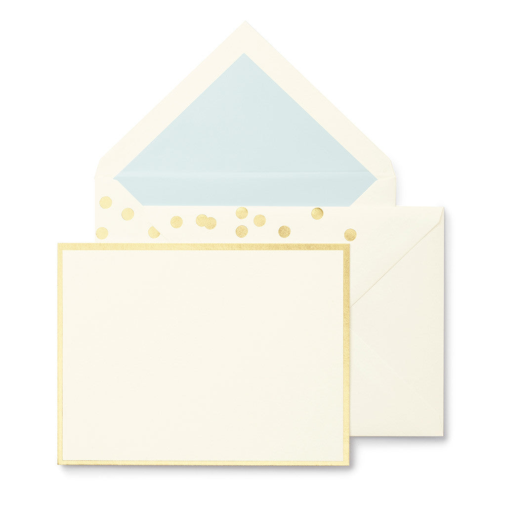 kate spade new york notecard set - cue the confetti - lifeguard-press
