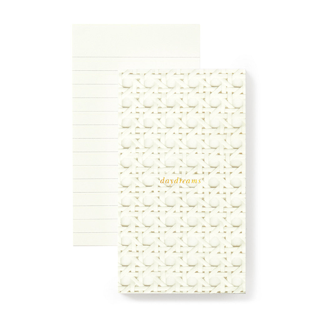 kate spade new york small notepad - caning - lifeguard-press