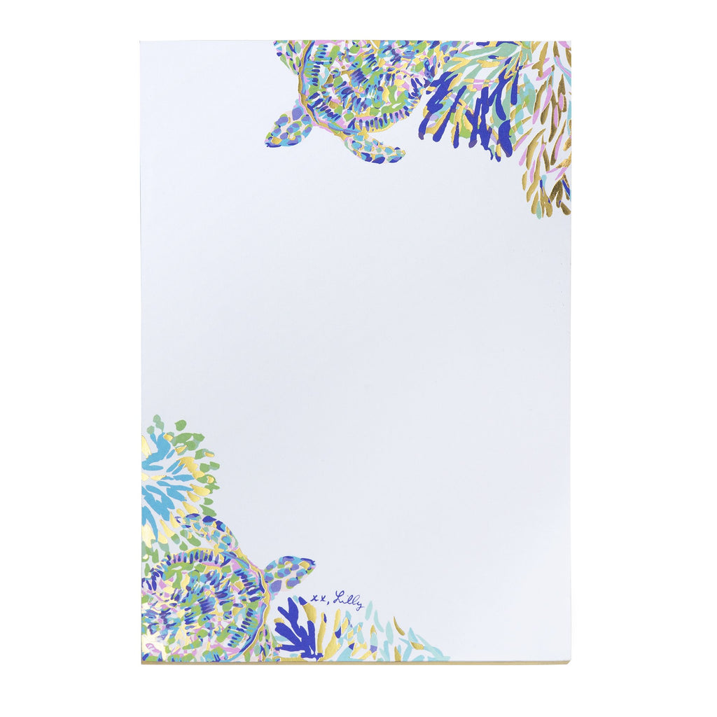 Lilly Pulitzer Notepad, Shell of a Party