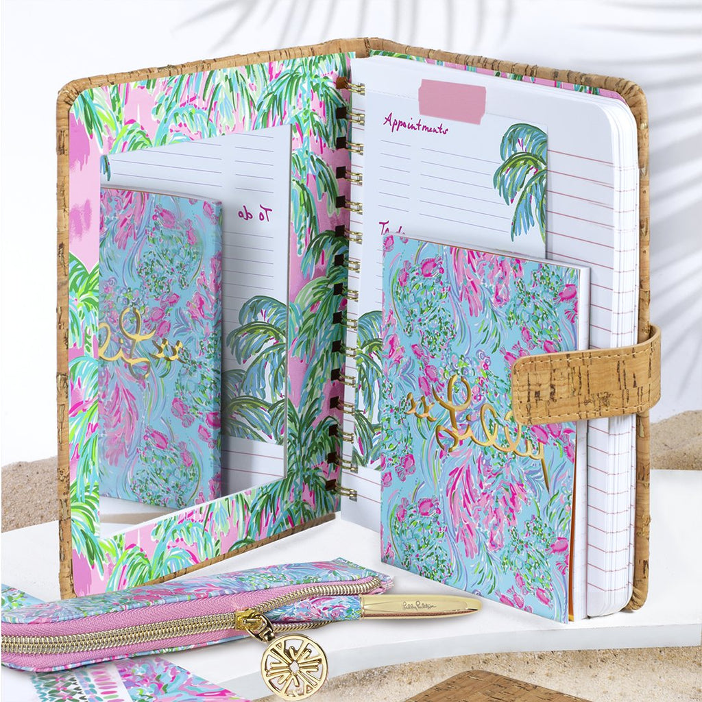 Lilly Pulitzer Concealed Journal with Mirror, Suite Views