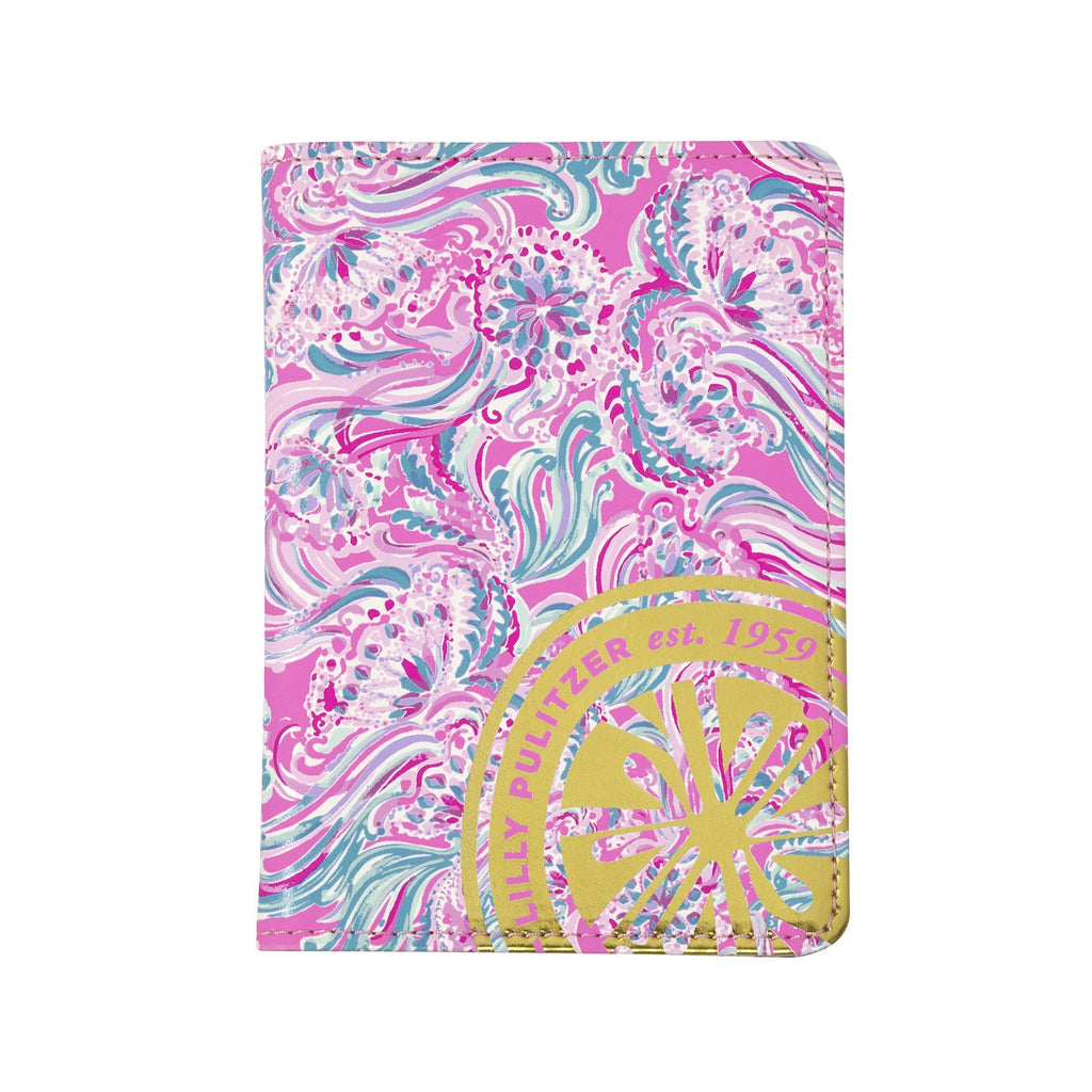 Lilly Pulitzer Passport Cover, Don't Be Jelly