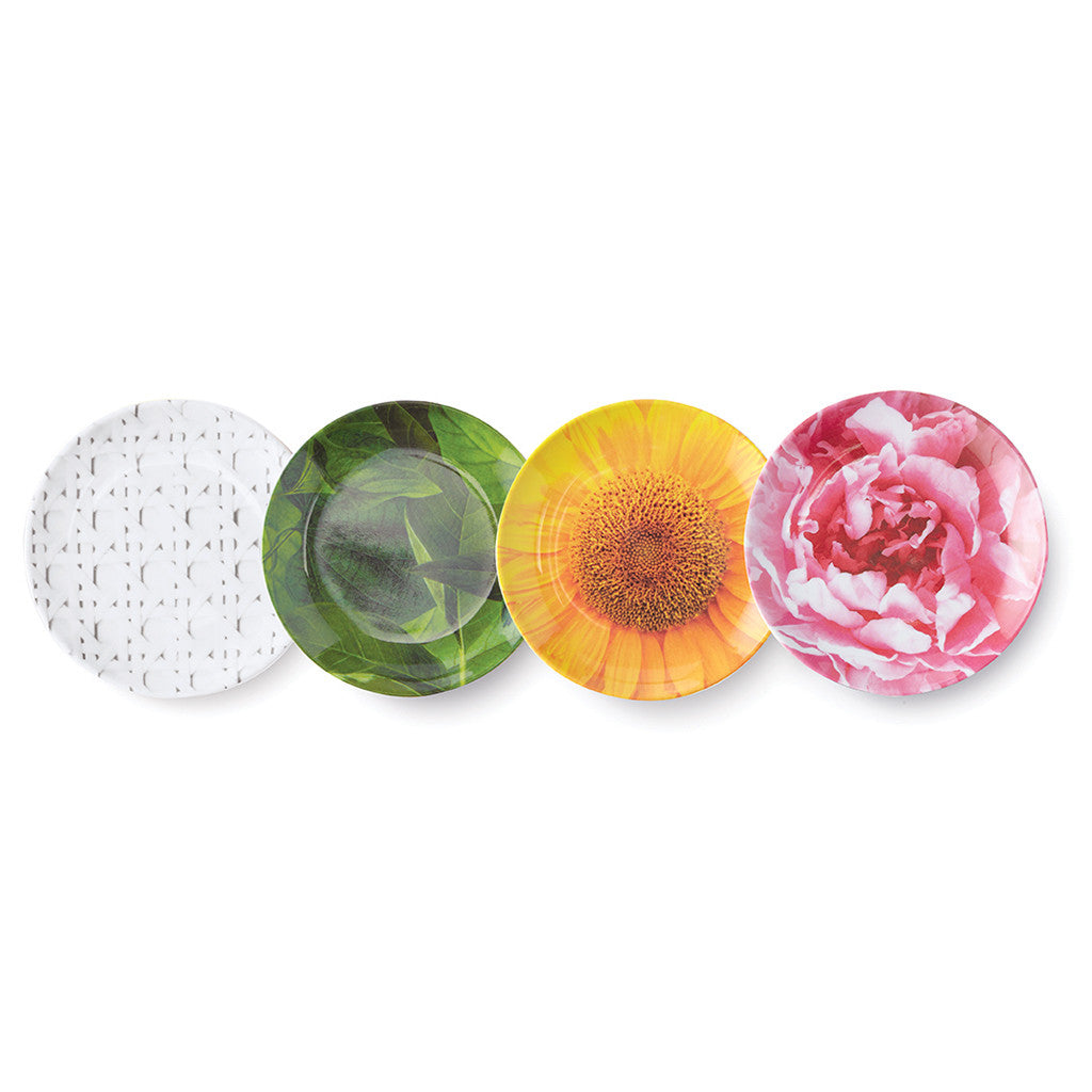 kate spade new york melamine coaster set - patio floral - lifeguard-press