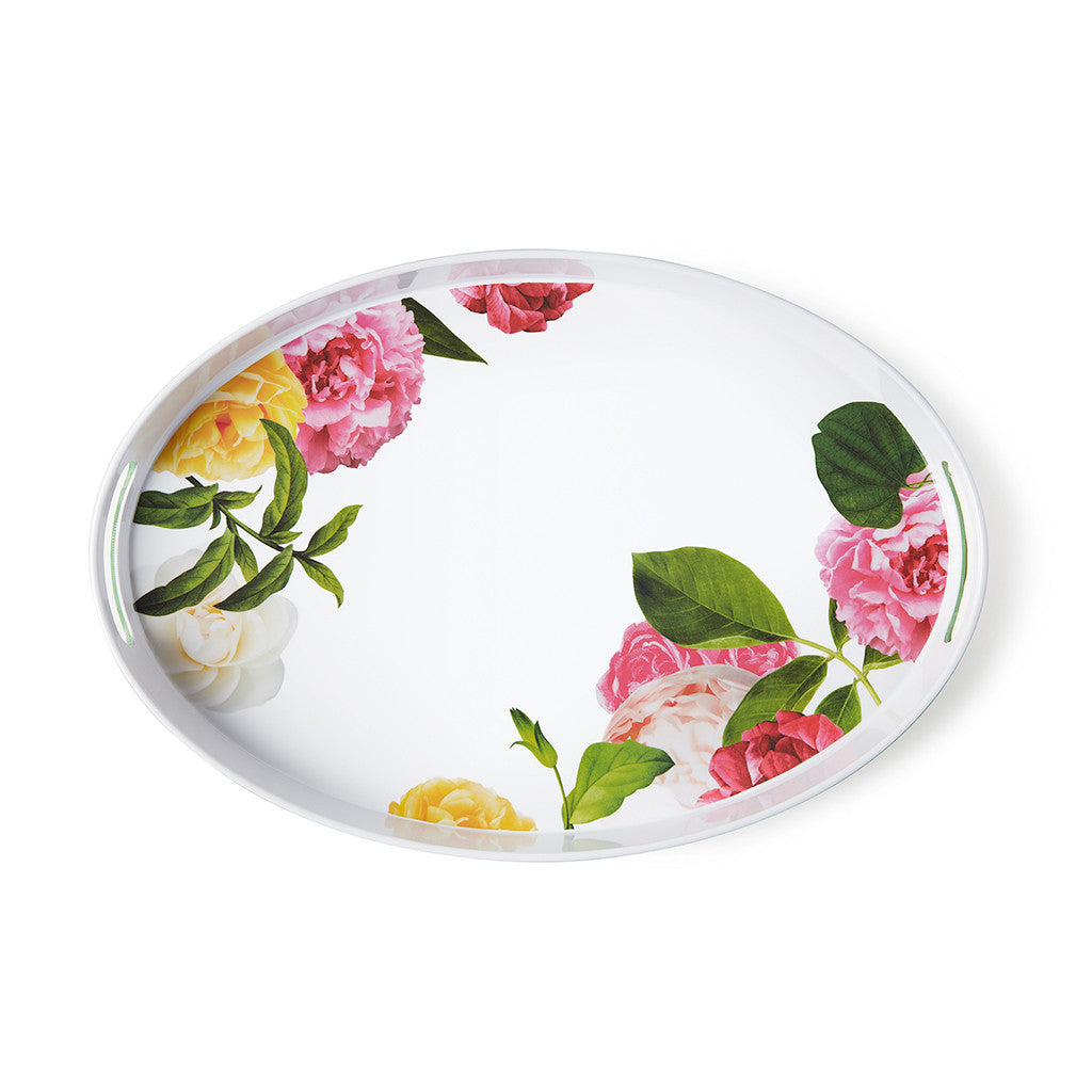 kate spade new york melamine serving tray - patio floral - lifeguard-press