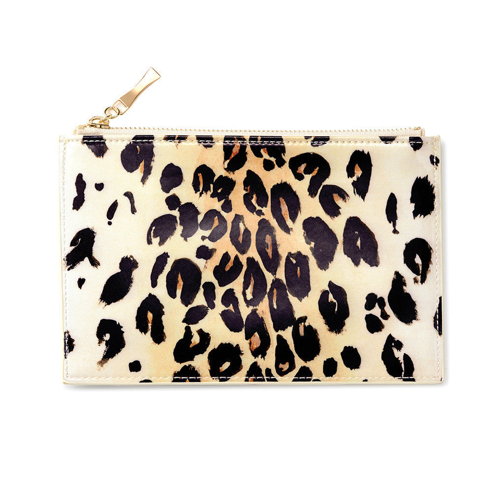 kate spade new york leopard pencil pouch - lifeguard-press