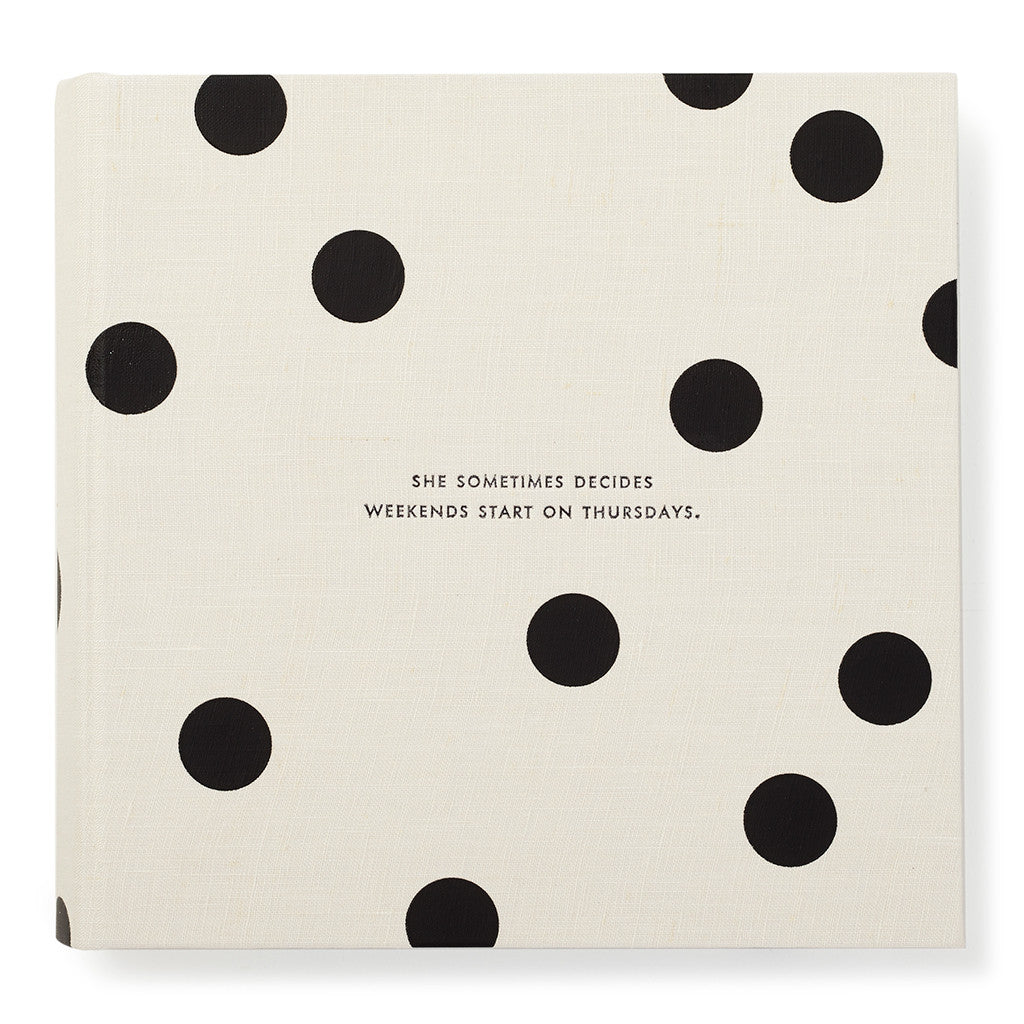 kate spade new york large photo album - it all just clicked - lifeguard-press