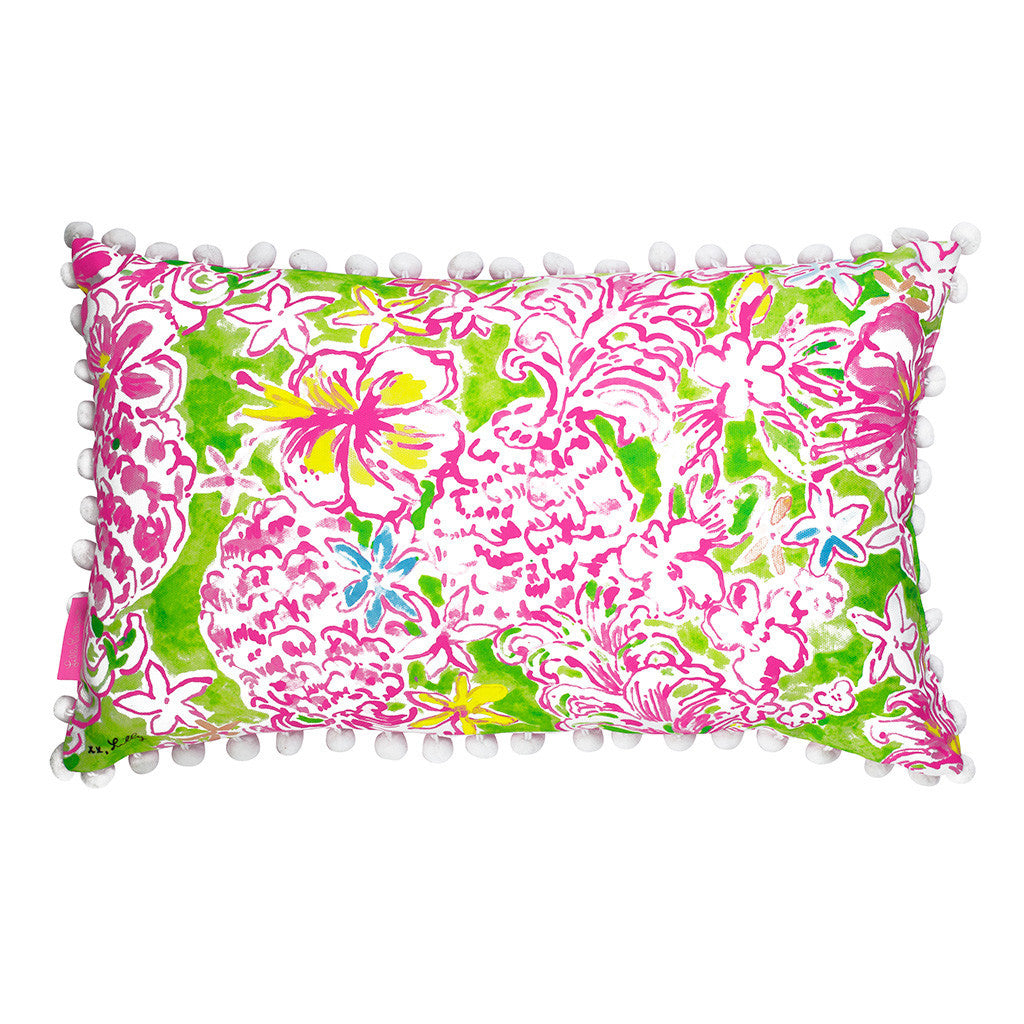 Lilly Pulitzer Medium Pillow - Lolita - lifeguard-press - 1