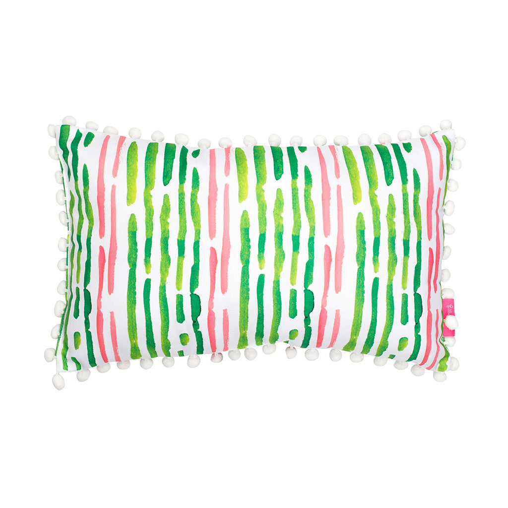 Lilly Pulitzer Medium Pillow - Flamingo - lifeguard-press - 2