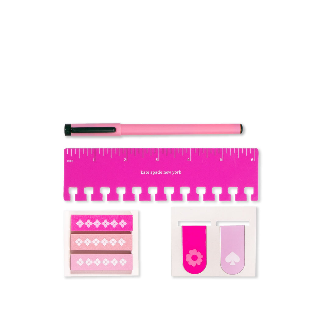 kate spade new york planner pouch, neon