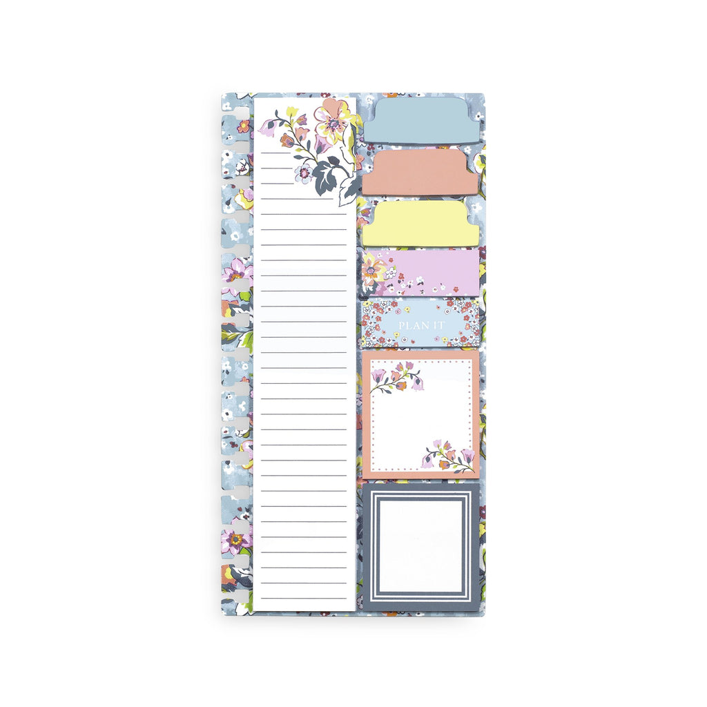 Vera Bradley Planner Sticky Notes, Floating Garden