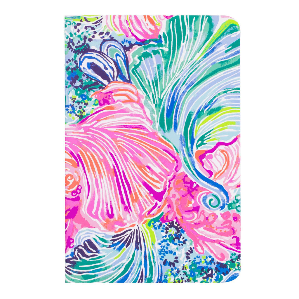Lilly Pulitzer Pocket Notebook Set Wellness, Beach Please
