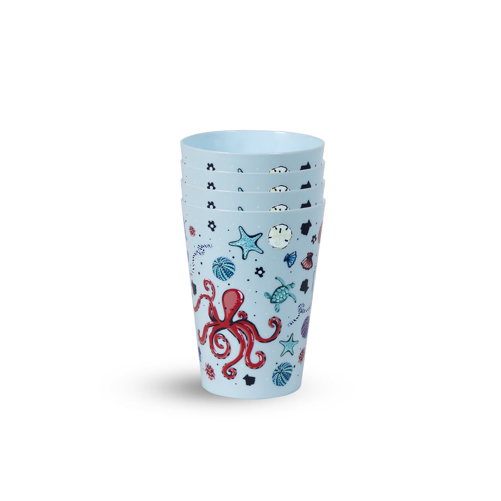 vera bradley pool cups, sea life