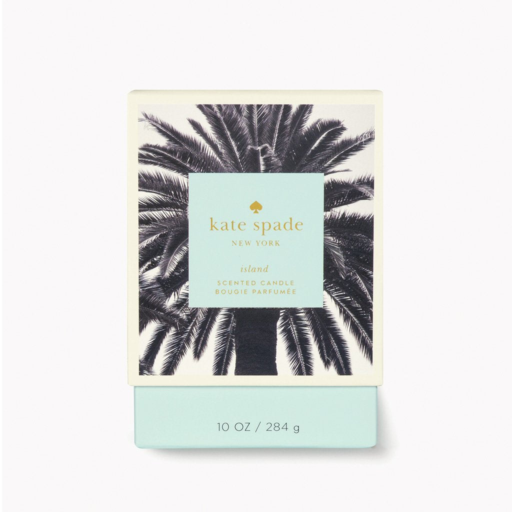 kate spade new york large candle - island