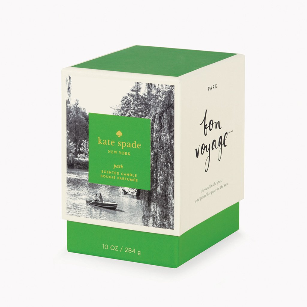 kate spade new york large candle - park