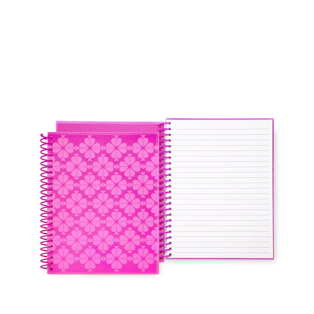 kate spade new york small spiral notebook, neon