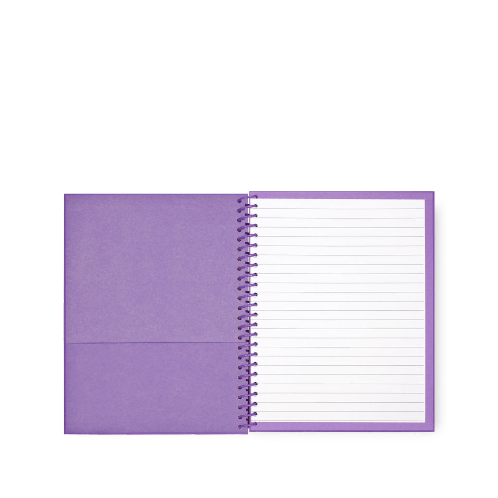 kate spade new york small spiral notebook, scallop