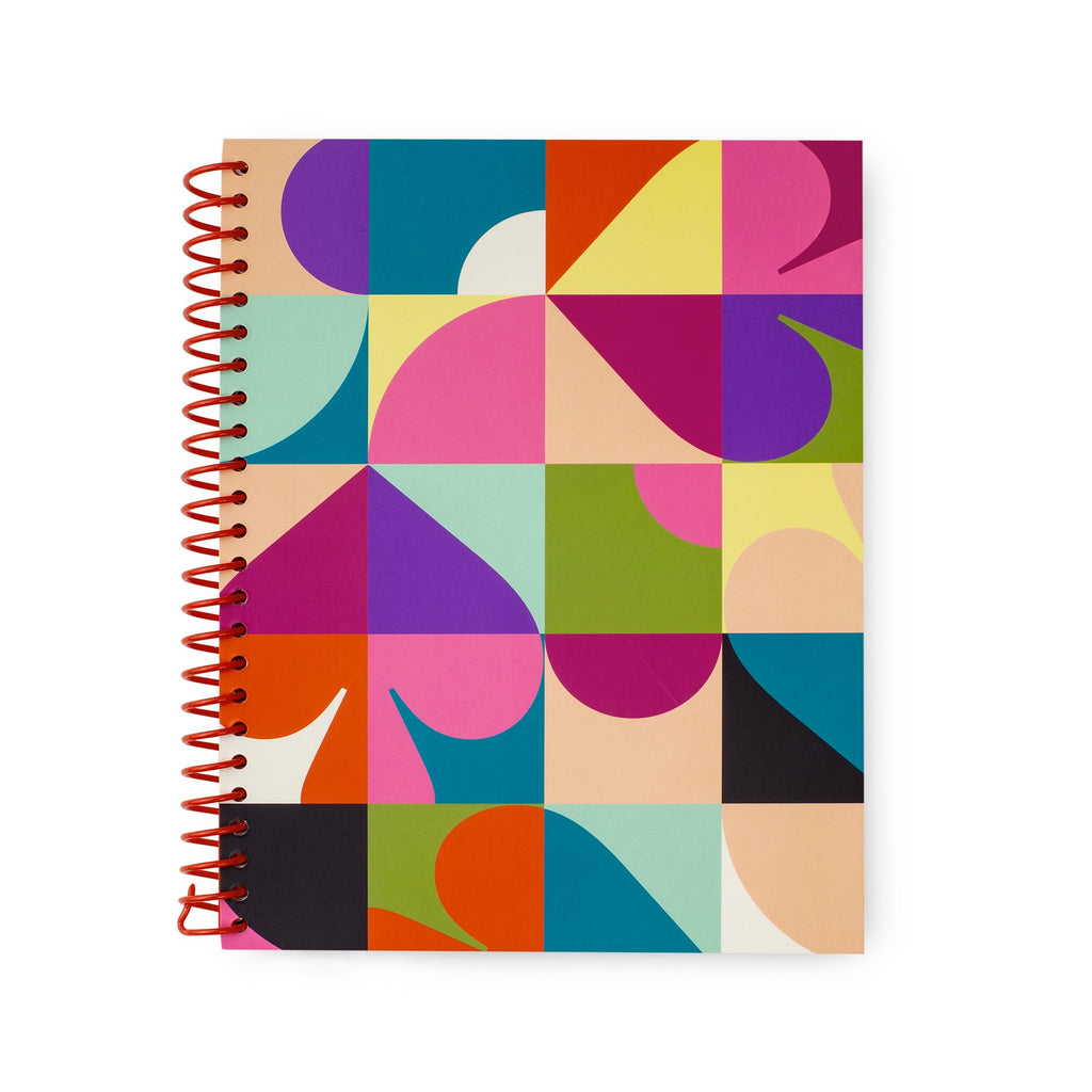 kate spade new york small spiral notebook, spade dot geo